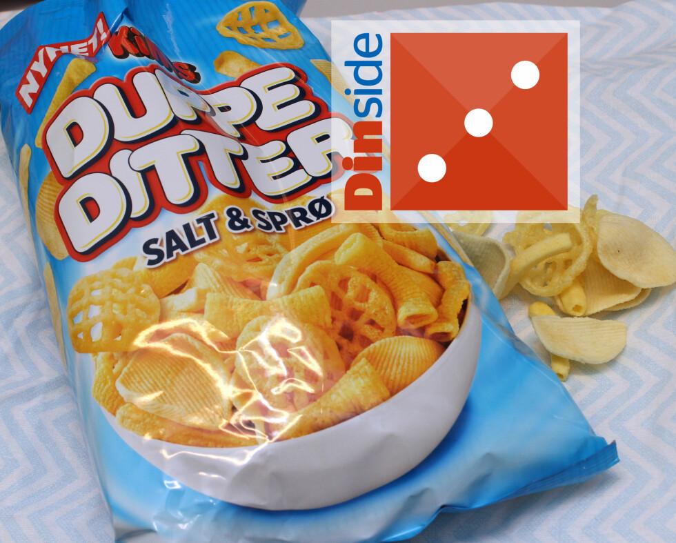 <b>DUPPEDITT - HVA ER DET?</b> 175 gram, 497 kcal og 3 gram salt per 100 gram vare. Foto: KRISTIN SØRDAL