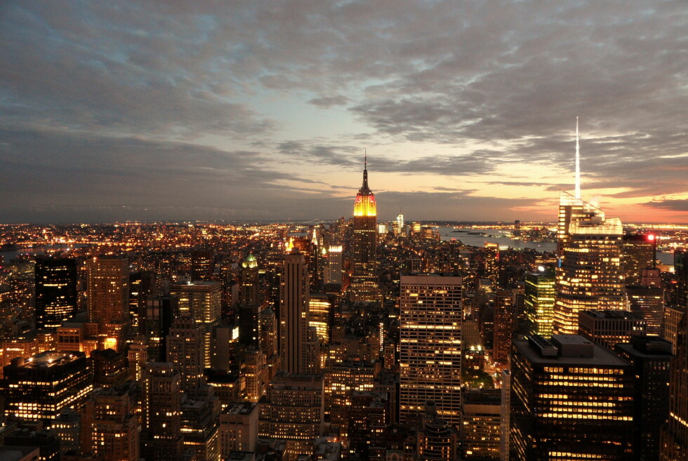 NEW YORK: Frank Sinatra ville nok blitt skuffet ... Foto: COLOURBOX