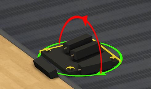 <B>«BÖRK»</B> Bordet er kliss likt Ikeas «Lack». Så enkelt å sette opp at det tok lenger tid i spillet enn i virkeligheten. Foto: THESTORKBURNTDOWN
