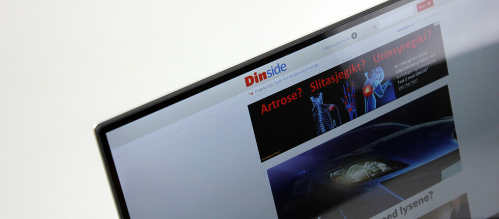 SYLTYNN KANT: Dells nye 13-tommer ser nesten ut som en 11-tommer takket være den svært tynne kanten rundt skjermen. Foto: PÅL JOAKIM OLSEN