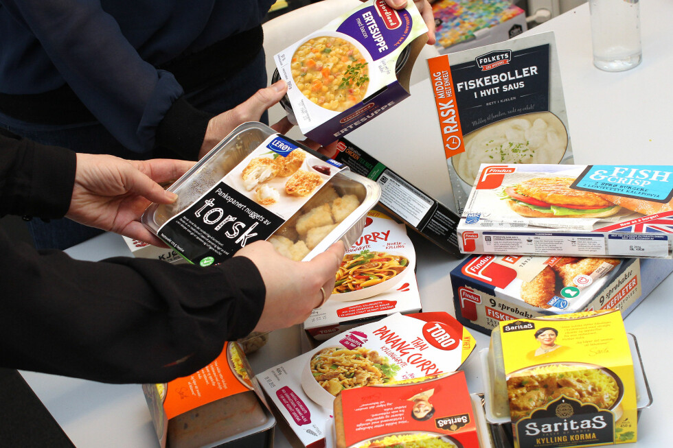 PRØVESMAK: Vi har prøvesmakt på 13 av middagsnyhetene som kommer i butikkhyllene fra 16. februar. Her er det svært varierende smaker, og alt fra terningkast 6 til 2 ... Foto: OLE PETTER BAUGERØD STOKKE