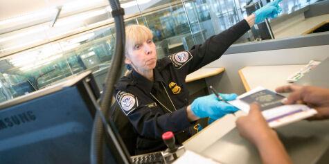 image: Vil ha amerikansk innreisekontroll i Norge