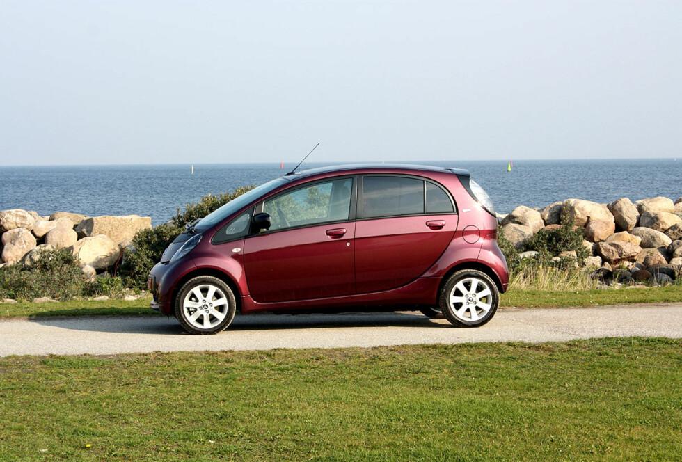 PÅ STRØM: Billigste elbil er Citroën C-Zero til 133.000 kroner Foto: KNUT MOBERG
