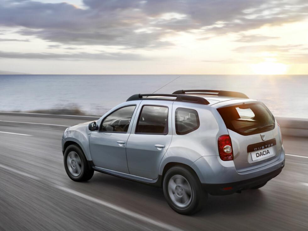SUV UNDER 200 K: Dacia Duster koster fra 183.000 kroner og er billigste SUV. Foto: DACIA