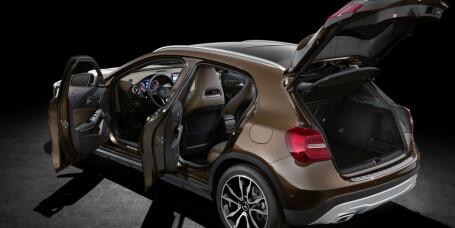Mercedes-Benz GLA til Golf-pris
