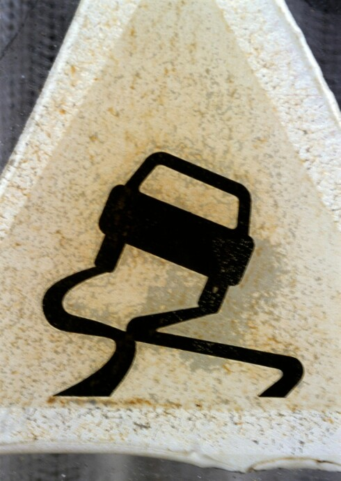 SPEILBLANKT: Underkjølt regn gir de farligste kjøreforholdene.  Foto: COLOURBOX.COM