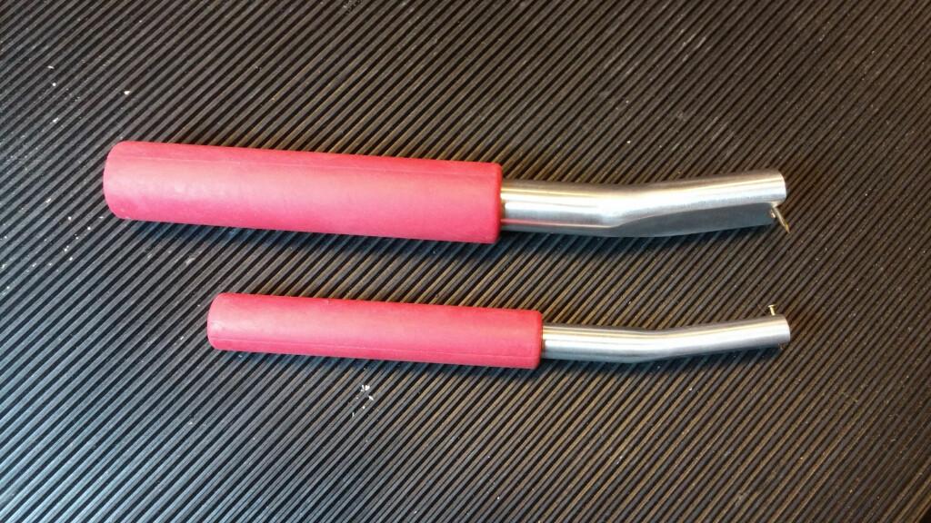 I butikken: Det finnes sett med spikerholdere, med spor og magnet i tuppen. Foto: BRYNJULF BLIX