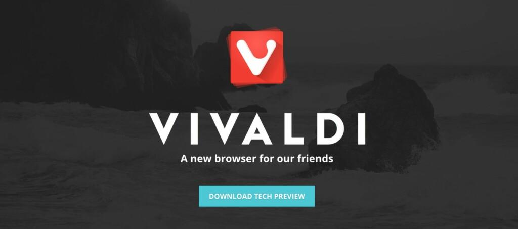 <strong>NORSK:</strong> Vivaldi er en splitter ny norsk nettleser. Foto: VIVALDI