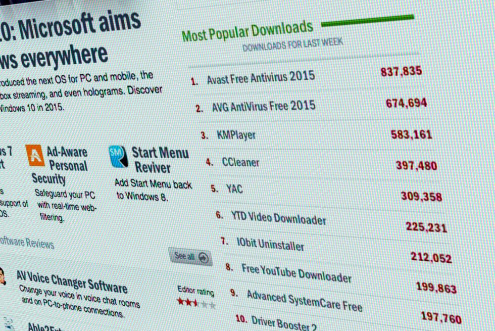 POPULÆRT: Bare den siste uka har hundre tusenvis lastet ned gratisprogrammer fra download.com. Foto: PÅL JOAKIM OLSEN