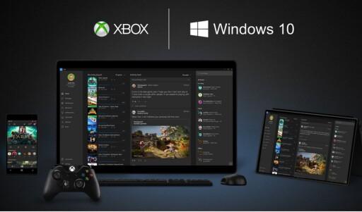 SAMMENKOBLING Alt skal snakke med alt i Microsofts nye Windows-univers. Også Xbox er med. Foto: MICROSOFT