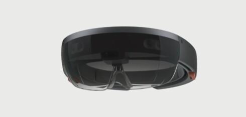 BRILLER: Du må ha på deg disse for å få hologram-effekten. Foto: MICROSOFT