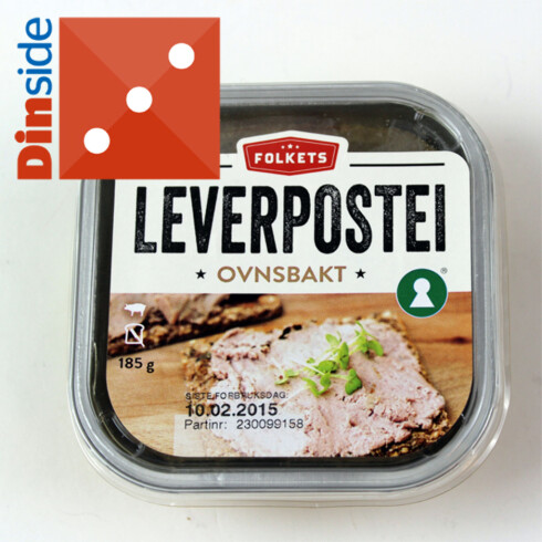 Test av leverpostei