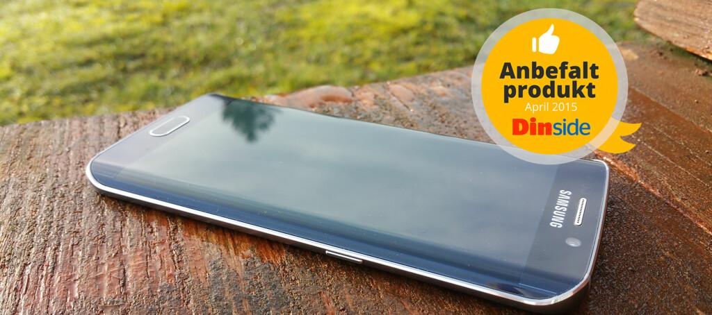 <strong>LEKKER:</strong> Samsung Galaxy S6 Edge er noe helt spesielt. Foto: PÅL JOAKIM OLSEN