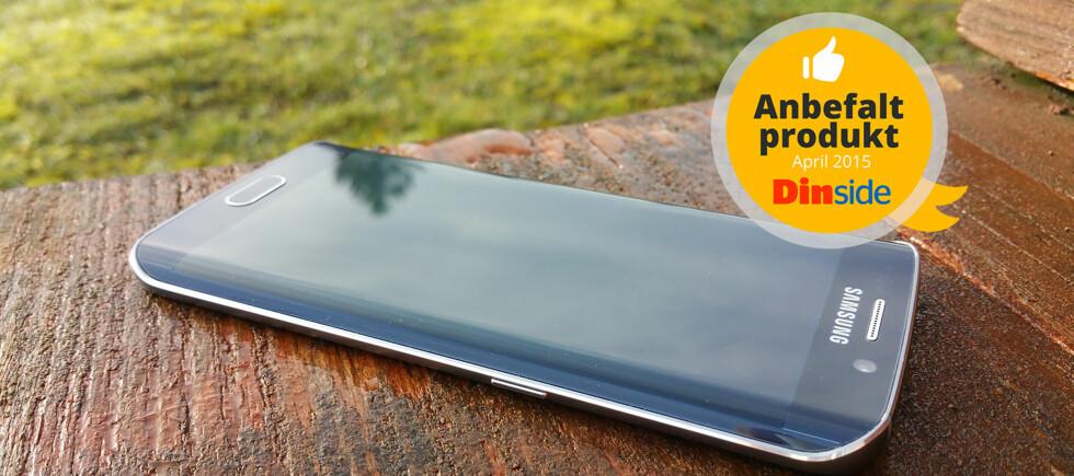 LEKKER: Samsung Galaxy S6 Edge er noe helt spesielt. Foto: PÅL JOAKIM OLSEN