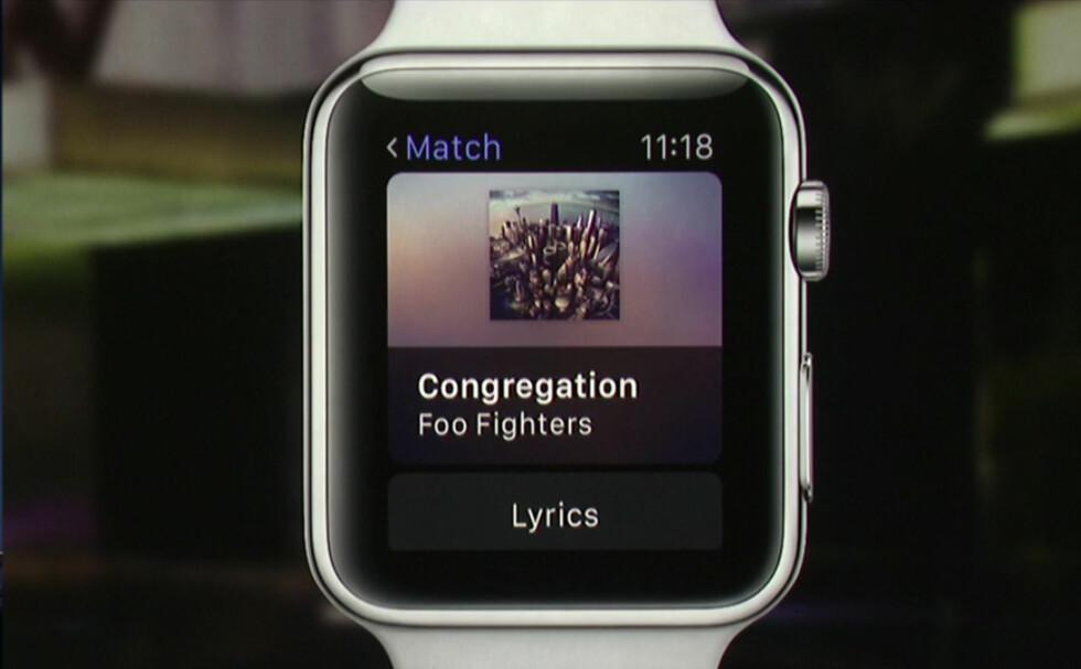 Hvilke apper kan du få på Apple Watch?