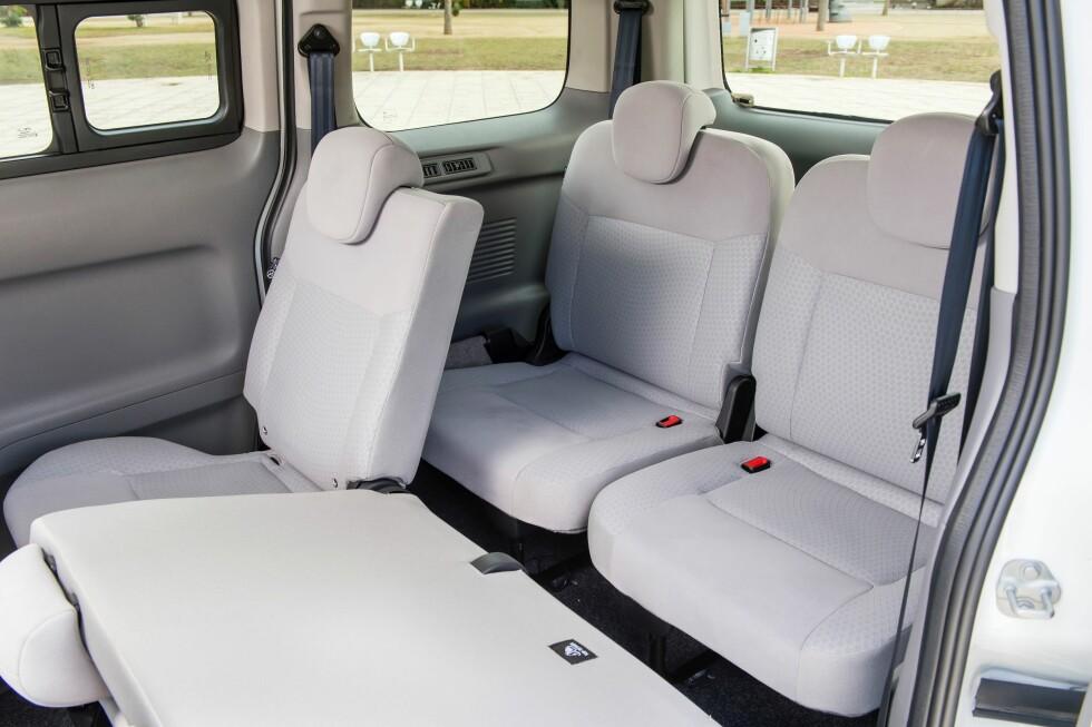 ALLSIDIG: Som i enhver moderne flerbruksbil finnes det mange mulige konfigurasjoner. Foto: NISSAN