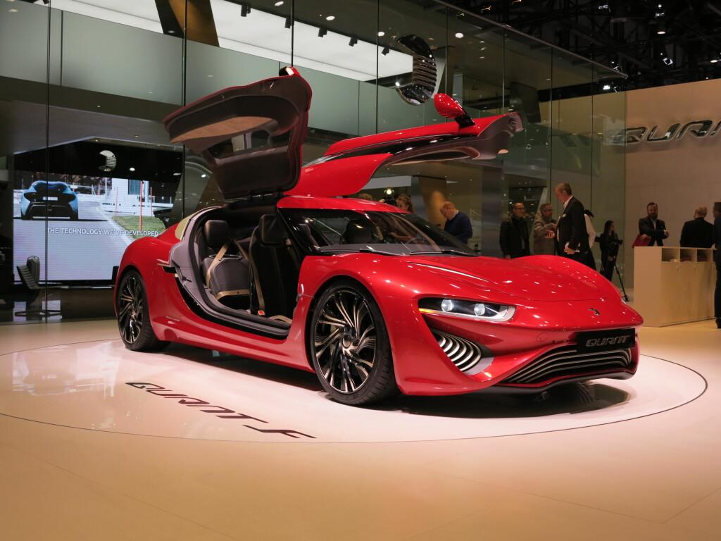 Quant: Bilen som får alle fans av måkevingedører til å smile bredt. Foto: Fred Magne Skillebæk