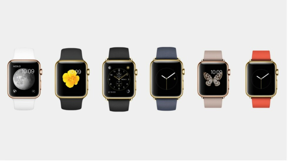 DYR: Edition-utgaven av Apple Watch starter på 10 laken. Amerikanske laken.