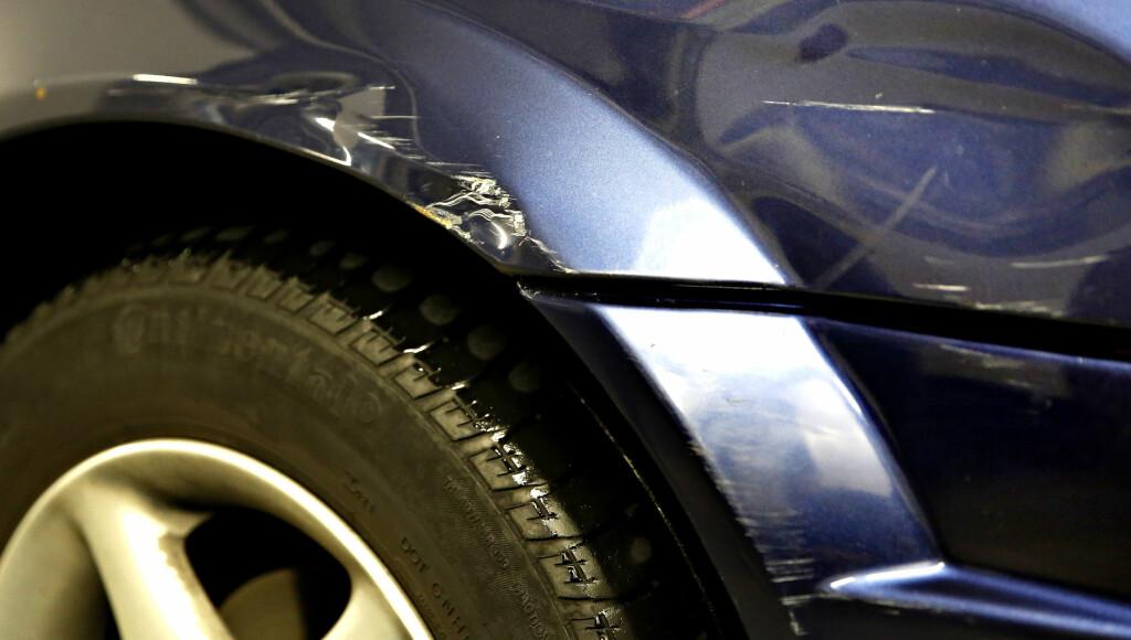 TYPISK: Uoppmerksomme sjåfører fører fort til skader av denne typen.  Foto: JACQUES HVISTENDAHL/ DAGBLADET
