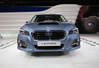 Subaru med ny modell: Levorg