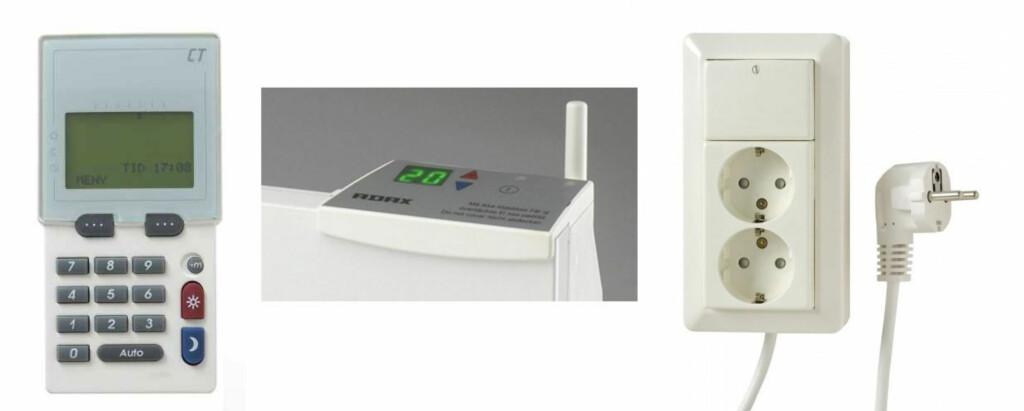 ADAX: Symphony 5000 styrer egne ovner og andre apparater fra fjernkontrollen. Foto: Produysenten