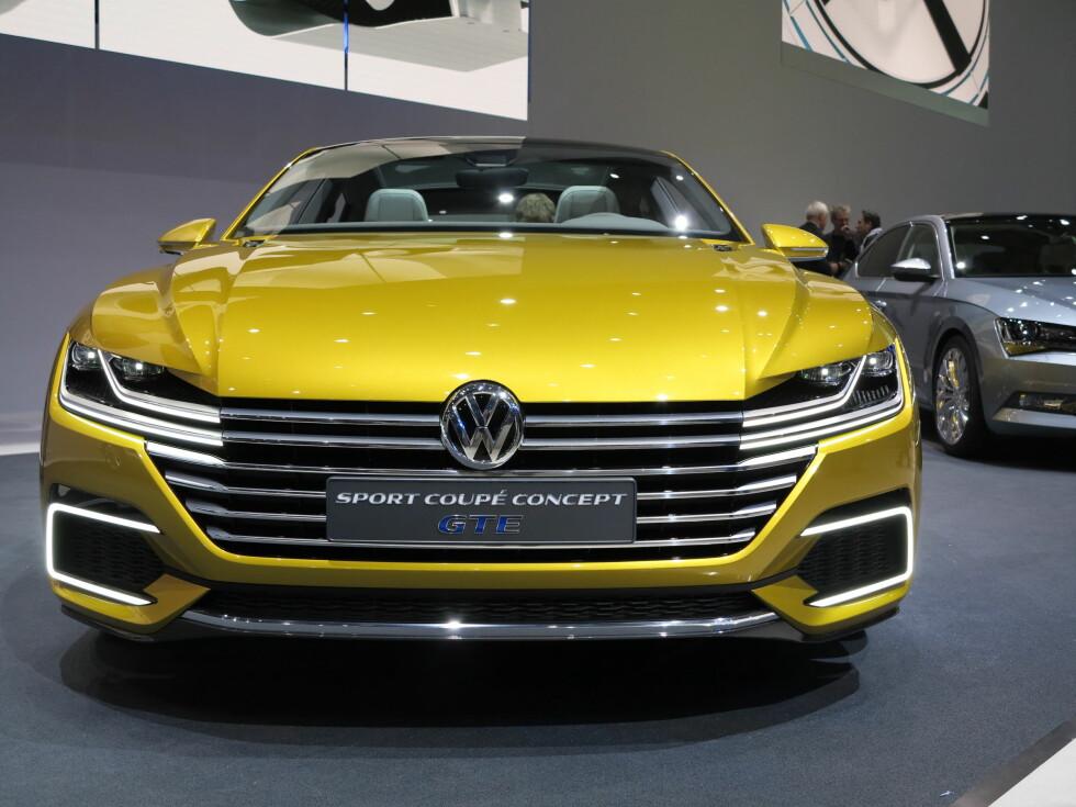 GTE: De tre bokstavene er blitt betegnelsen på kraftfulle, ladbare hybrider hos Volkswagen. Foto: FRED MAGNE SKILLEBÆK