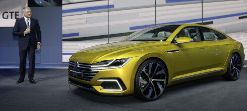 Volkswagen med ny Sport Coupe GTE