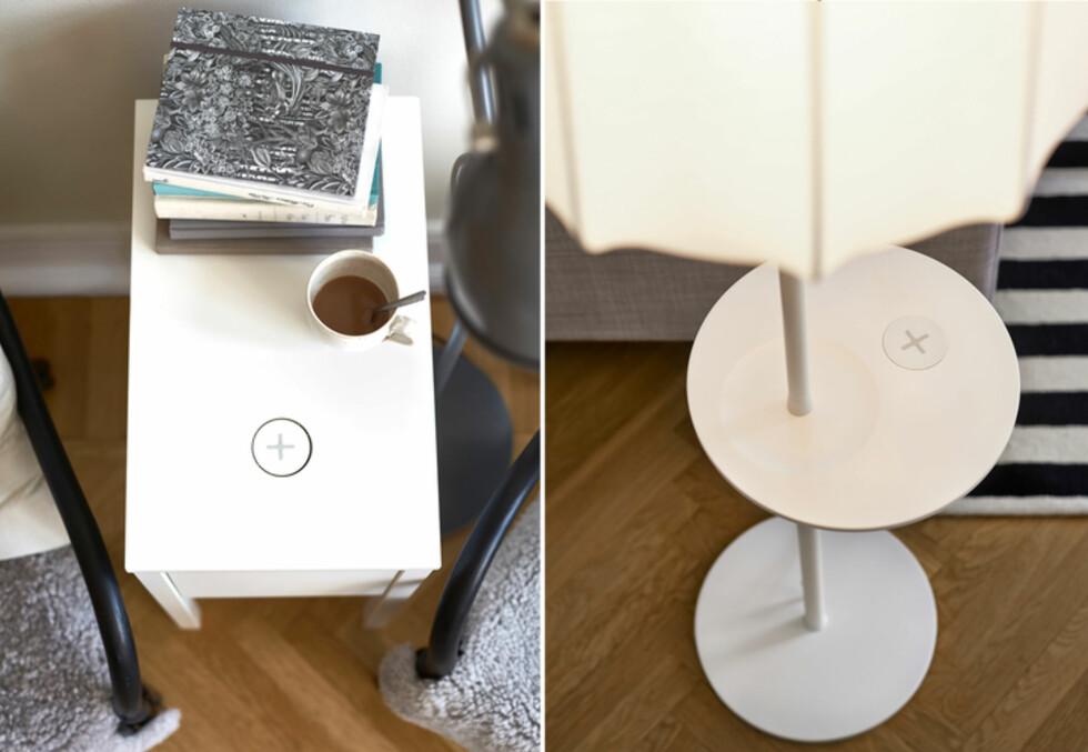 <strong><b>Priseksempel:</strong></b> Arbeidslampe 595 kroner, nattbord fra 498 til 798 kroner. Foto: IKEA
