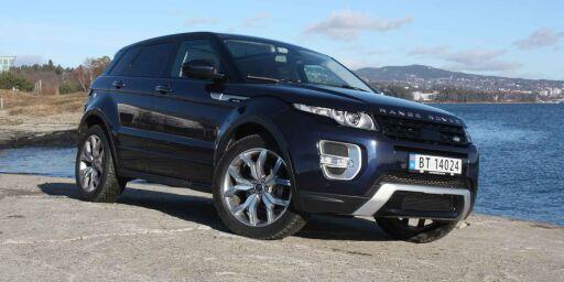 image: TEST: Range Rover Evoque med 9-trinns automat