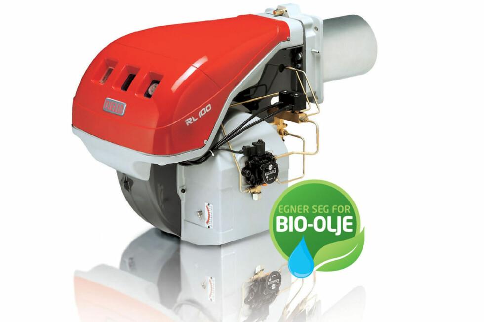 FORTSATT LIV LAGA: Det finnes oljebrennere klare for bio-olje og svært mange eksisterende brennere kan konverteres. Foto: VVPARTS