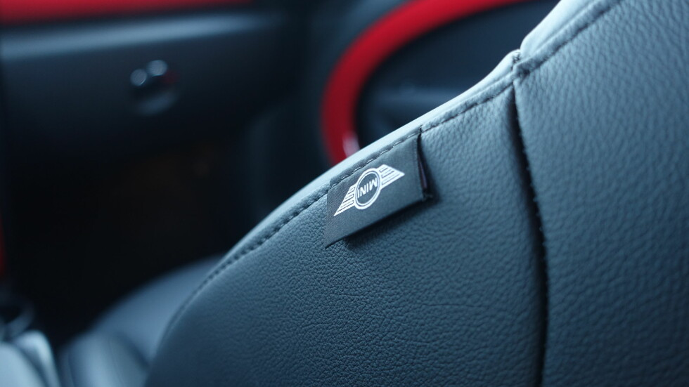 DETALJER: Mini er gode på utstyr som gjør bilen personlig.  Foto: RUNE M. NESHEIM