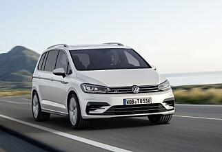 Endelig! Helt ny Volkswagen Touran