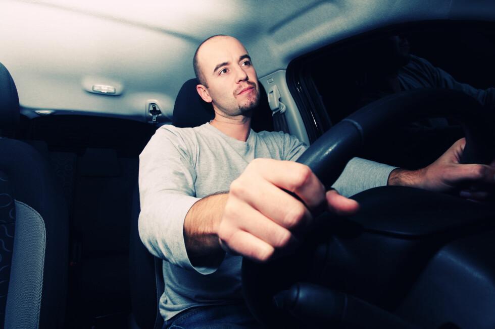 Trygg bak rattet: Tar du stor risiko, eller er du en trygg sjåfør Foto: ALL OVER PRESS