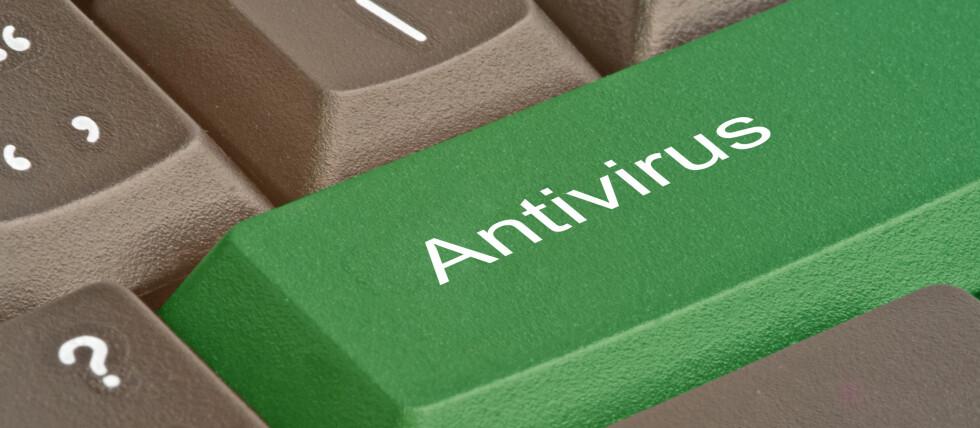 BESKYTTELSE: Hvilket antivirusprogram bør du velge? Det tyske laboratoriet AV-test har kåret sine favoritter fra det siste året. Foto: COLOURBOX