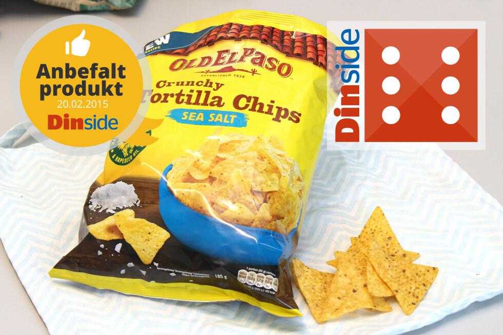 <strong><b>OLD EL PASO:</strong></b> 185 gram, 480 kcal, 1,2 gram salt per 100 gram. Foto: OLE PETTER BAUGERØD STOKKE