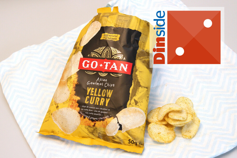 <strong><b>GO-TAN:</strong></b> 50 gram, 483 kcal og 3,9 gram salt per 100 gram vare. Foto: OLE PETTER BAUGERØD STOKKE