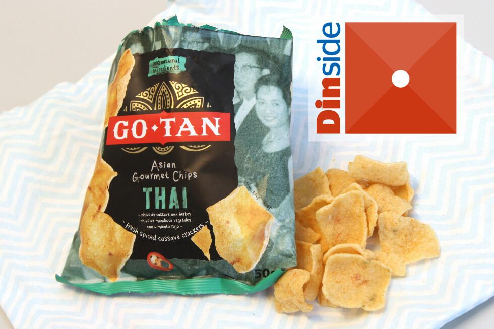 <strong><b>GO-TAN:</strong></b> 50 gram, 491 kcal og 1,9 gram salt per 100 gram vare.  Foto: OLE PETTER BAUGERØD STOKKE