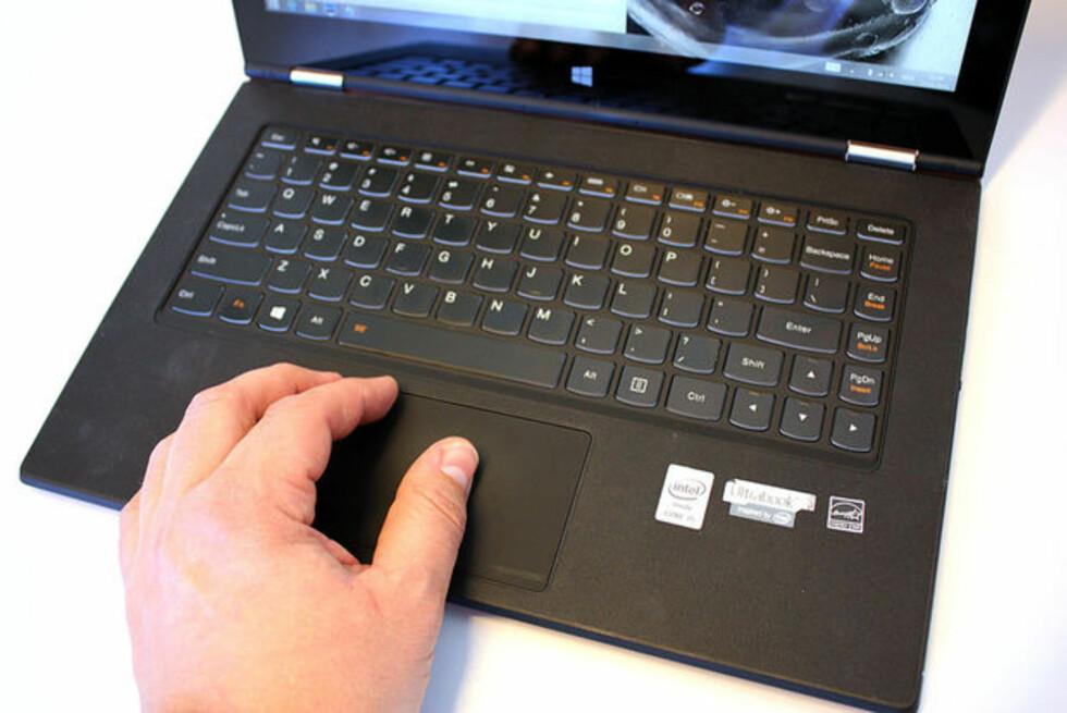 SKADELIG SØPPEL: Lenovo Yoga 2 Pro er en av modellene som har skadevare om bord. Foto: BJØRN EIRIK LOFTÅS