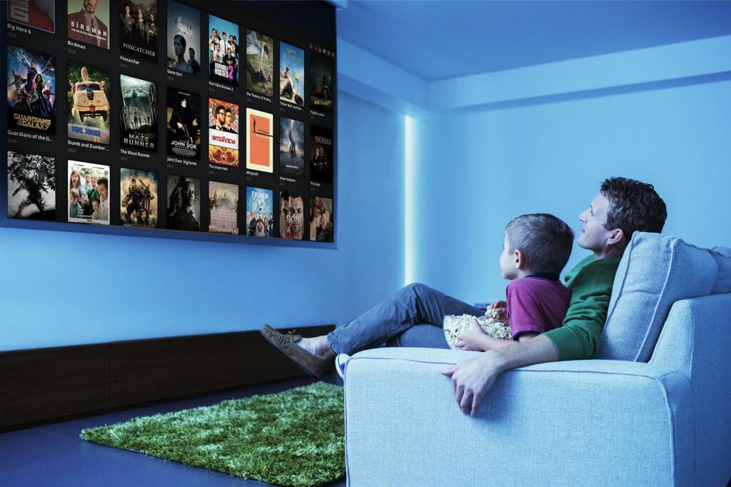 <B>FORBUDT?:</B> Mange nordmenn bruker Popcorn Time til å skaffe seg gratis filmer. Men er det lov? Foto: ALL OVER PRESS / OLE PETTER BAUGERØD STOKKE