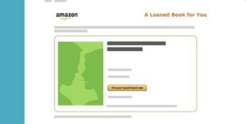 LÅN: Amazon tilbyr utlån av bøker for sine Prime-kunder, men foreløpig ikke for nordmenn. Foto: AMAZON