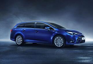 Her er nye Toyota Avensis