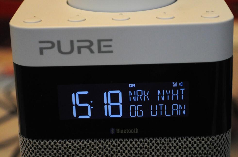 DAB OG BLUETOOTH: Pure Midi Bluetooth har flere muligheter. Foto: TORE NESET