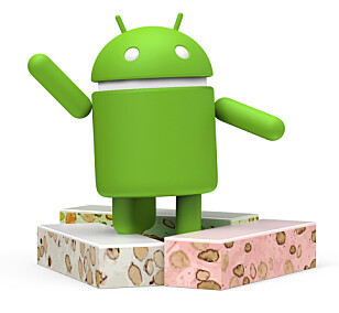 SØTSAK: I tradisjonen tro har Android 7.0 fått navnet sitt etter en dessert eller søtsak. Den nye versjonen heter Nougat, og er da etterfølgeren til Marshmallow, Lollipop, KitKat, Jelly Bean og alle de andre slikkeriene. Foto: GOOGLE