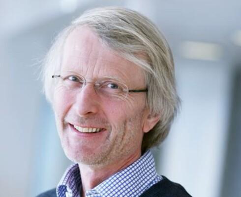 IKKE MED EN GANG:Sjeføkonom Lars E. Haartveit i Virke tror det vil ta noe tid før vi merker valutanedgangen. Foto: VIRKE