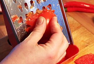 Riv tomatene - ikke kutt