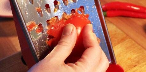 image: Riv tomatene - ikke kutt