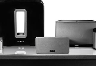 TEST: Sonos multiromsystem