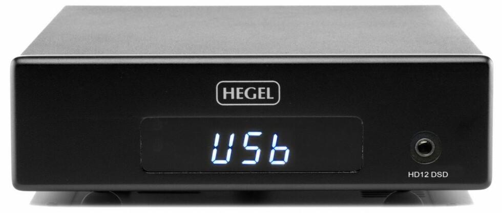 TRENGER DAC: Skal du spille HD-filer, trenger du en DAC med USB. Her siste modell fra norske Hegel, HD12. Foto: HEGEL