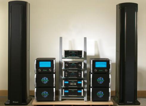 VOKSENT ANLEGG: Du trenger godt utstyr for å høre HD-lyd, om enn ikke så omfattende som dette. Foto: MCINTOSH