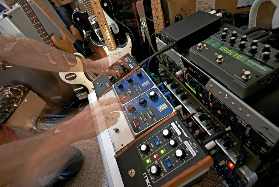 STUDIO: Ofte er det lydteknikerne og ikke HD-lyden som er årsaken til at du hører forskjell. Foto: ALL OVER PRESS